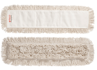 Моп хлопковый с карманами для сухой и влажной уборки 60 см