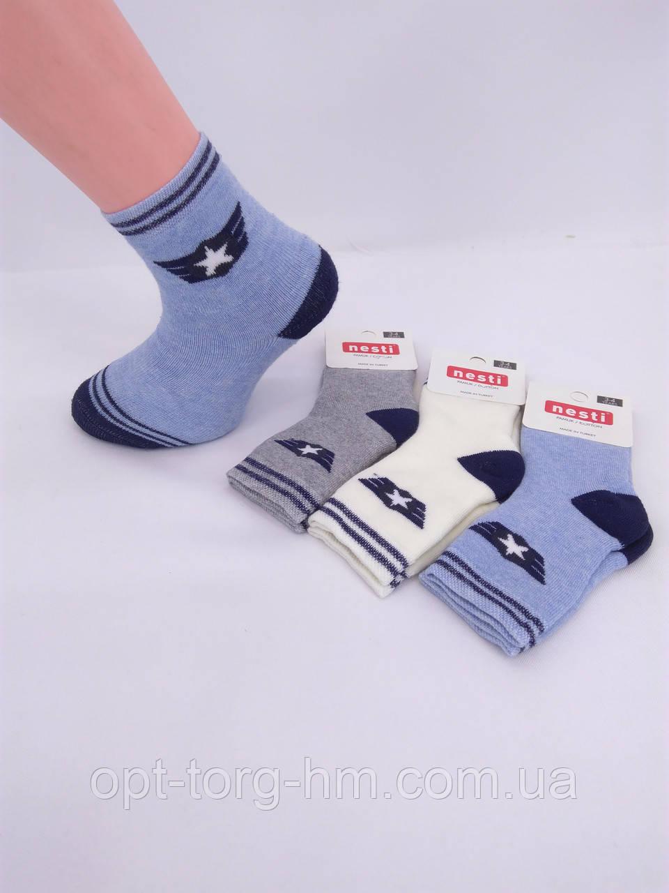Дитячі махрові шкарпетки nesti( Туреччина) 0-1 року