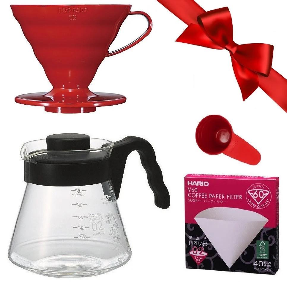 Подарочный набор HARIO №15 V60 02 для альтернативного заваривания кофе
