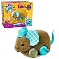 """Интерактивный мышонок """"Little Live Pets"""" коричневый"""