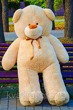 Плюшевий ведмедик Вэтли 200 см Медовий