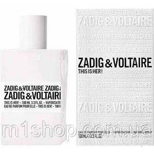 Zadig & Voltaire This is Her парфюмированная вода (оригинал) - распив