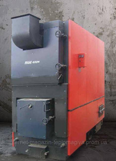 Твердопаливний промисловий котел Kalvis-1250М вулканного типу з механізованою подачею палива