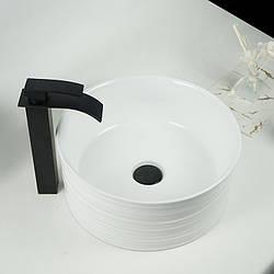 Керамічна накладна раковина. Модель RD-1029