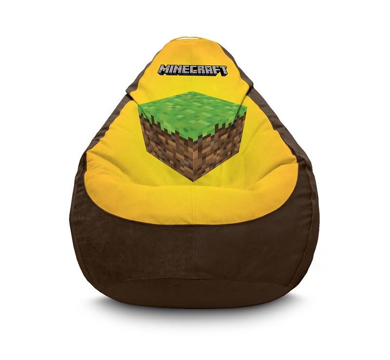 "Кресло мешок ""Minecraft. Cube"" Флок"