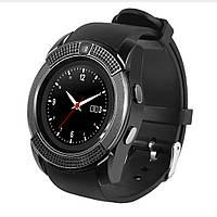 Часы наручные Smart Watch V8 black-ЧЕРНЫЕ