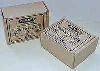 Пули Люман 0,57 г Pointed Pellets остроголовые, бумажная упаковка 1250 шт