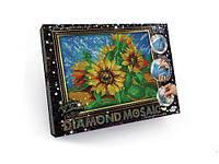 "Алмазная живопись ""DIAMOND MOSAIC"", ""Подсолнух"" DM-02-02"