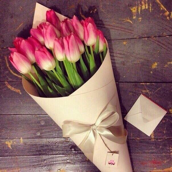 Крафт-бумага для цветов