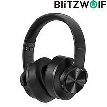 Беспроводные Bluetooth Наушники BlitzWolf BW-HP2 Black