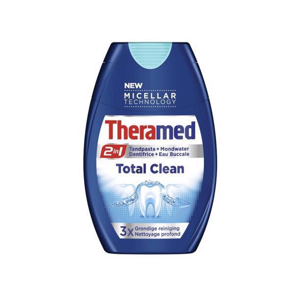 Зубная паста Theramed Total Care 2 в 1 75 мл 01492