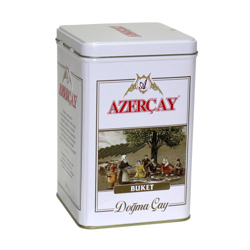 Чай черный Азерчай Букет 250г. ж/б»