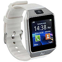 Часы Smart watch DZ09 Sim card и TF card camera (БЕЛЫЕ)
