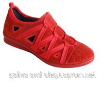 Женские туфли на низком каблуке из натуральной кожи