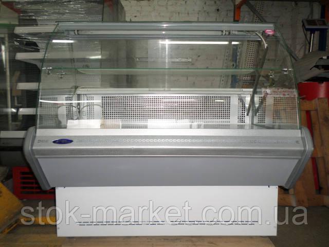 Хороший выбор холодильных витрин б/у разных форм и розмеров, в отличном состоянии.