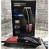 Профессиональная машинка для стрижки волос сетевая Gemei GM-807 9W 4 насадки, фото 5