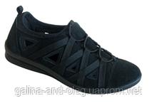 Жіночі чорні кросівки 6552R100