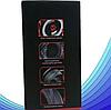 Комп'ютерні провідні ігрові навушники з микрофном, регулятором гучності і 3-я підсвічуваннями A6, фото 8