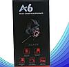 Комп'ютерні провідні ігрові навушники з микрофном, регулятором гучності і 3-я підсвічуваннями A6, фото 7