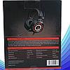 Комп'ютерні провідні ігрові навушники з микрофном, регулятором гучності і 3-я підсвічуваннями A6, фото 6