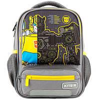 Рюкзак Kite Кайт Kids Transformers 29 × 23 × 9 см 8 л серый (tf20-559xs)