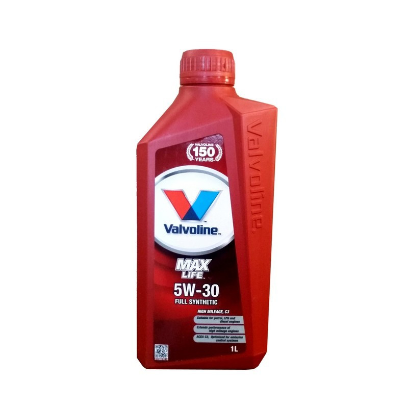 Моторное масло Valvoline MAXLIFE C3 5W-30 1 л (872369)