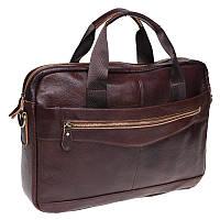 Чоловіча шкіряна сумка Borsa Leather K11118-brown