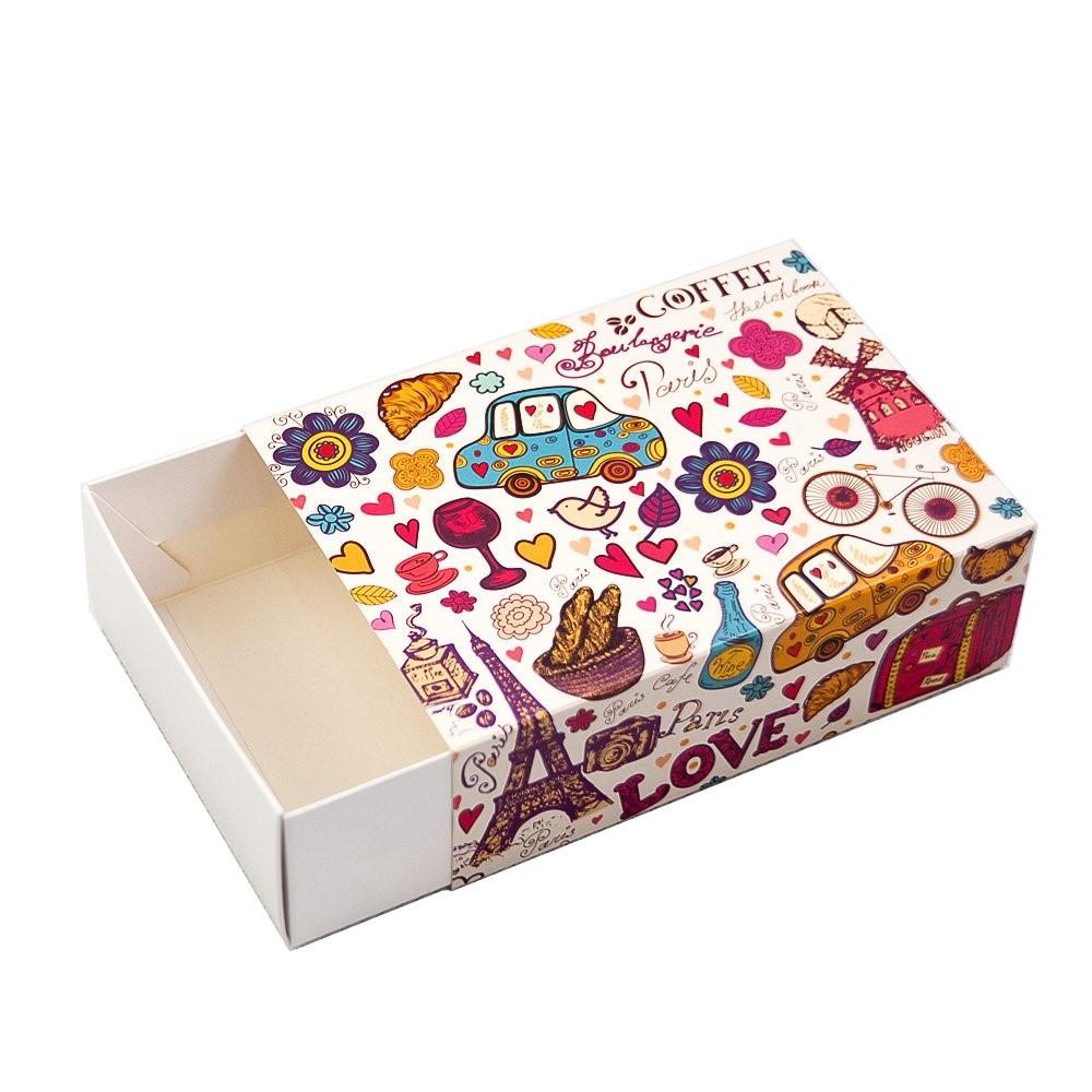 Коробка для 115*155*50 для 12 макаронс Париж (Упаковка 3 шт.)