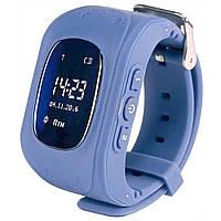 Детские Смарт Часы Smart Watch Q50 + 3G (СИНИЕ)