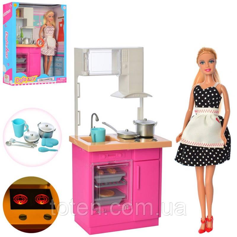 Кукла DEFA на кухне 8439-BF , 12