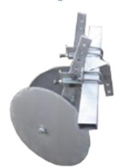 """Окучник дисковий ТМ """"Ярило"""" (Ø 380 мм) (без зчіпки)"""