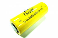 АКБ 3.7V 6800mAh, аккумулятор 26650 li ion, источник питания