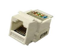 Гнездо 8P8C для компьютерной розетки Lemanso LMR1009 (24008)
