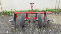 Окучник дворядний на підшипниках БелМет (40 см, литий маточина, мотоблок/мототрактор), фото 1