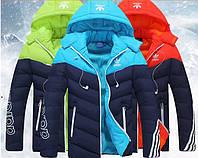 Мужская  куртка пуховик   Adidas  МК-269-О