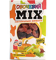 Цукати натуральні овочевий мікс Vitaminoking упаковка 125 г
