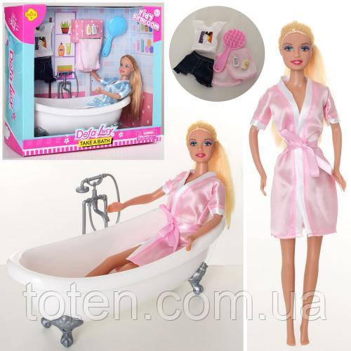 Лялька DEFA 8444-BF 29см, ванна 12