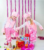 Детский новогодний костюм свинки