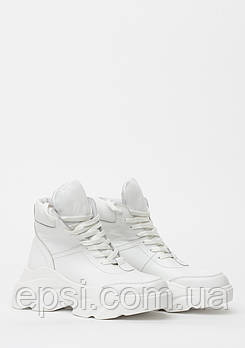 Кроссовки женские кожаные Wright 968KROS 39 белые