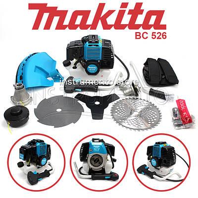 "Мотокоса Makita BC 526 (4.6 кВт, 2х тактный) Комплектация ""ЭКО"". Бензокоса Макита"