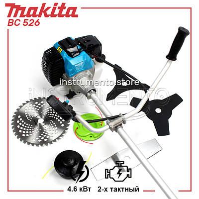 "Мотокоса Makita BC 526 (4.6 кВт, 2х тактный) Комплектация ""Стандарт"". Бензокоса Макита"