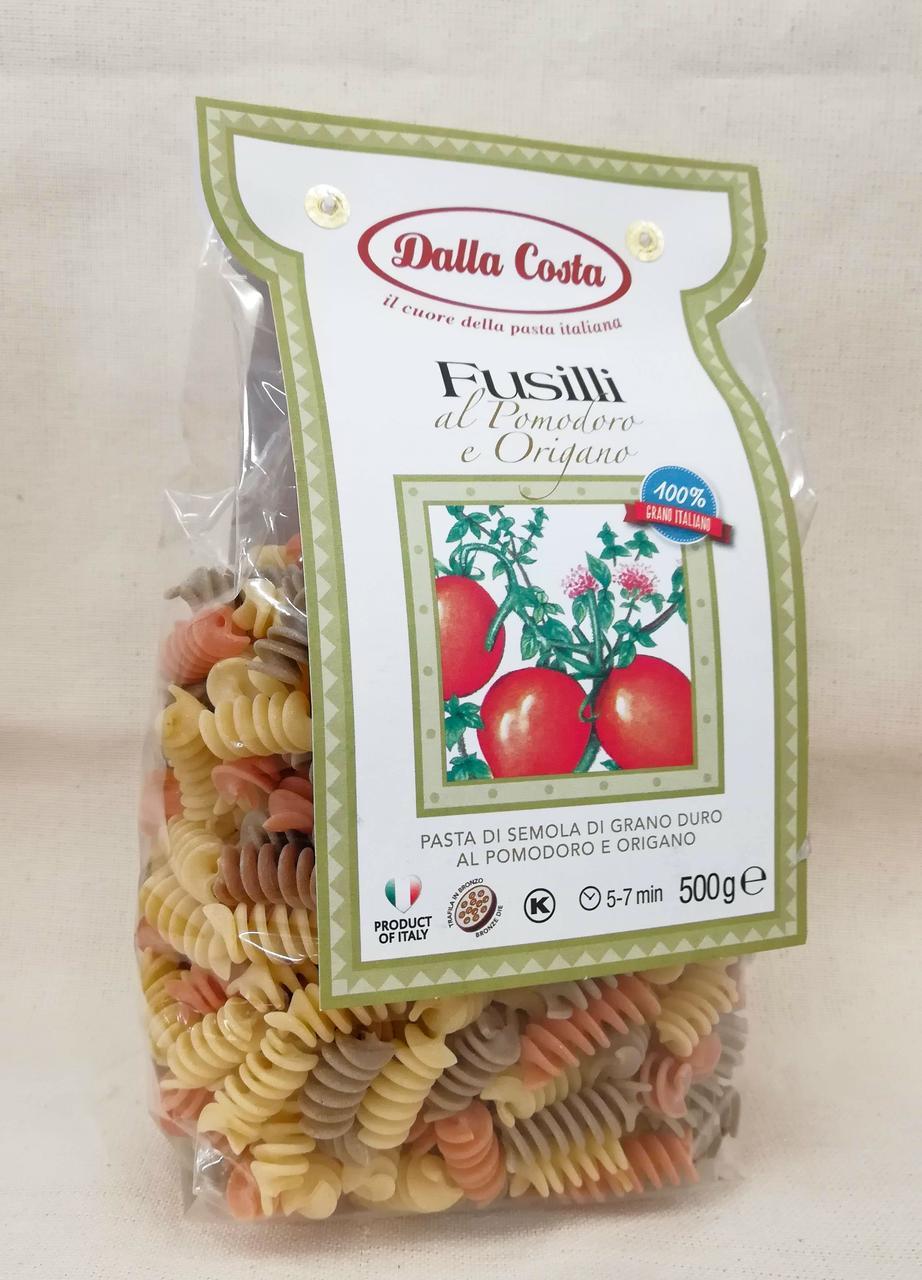 Спиральки цветные Dalla Costa Fusilli 500 gramm