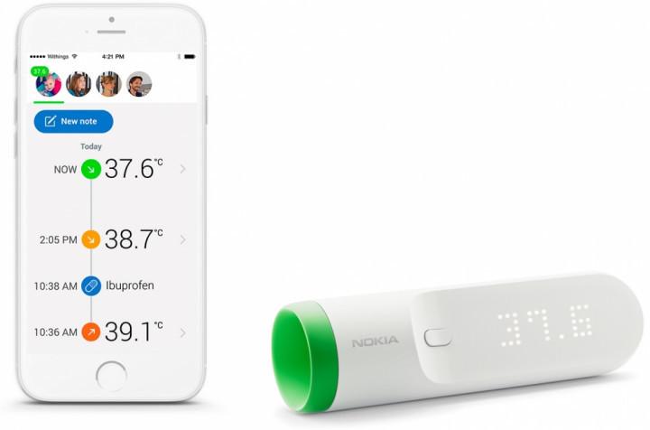 Инфракрасный термометр Nokia Thermo