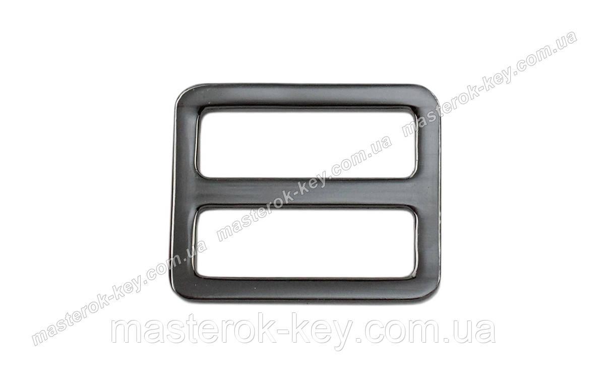 Рамка для сумки 65-227 размер 25мм цвет Темный-никель