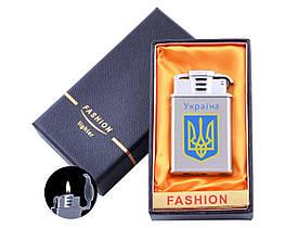 Зажигалка газовая в подарочной коробке Герб Украины №UA-41-3