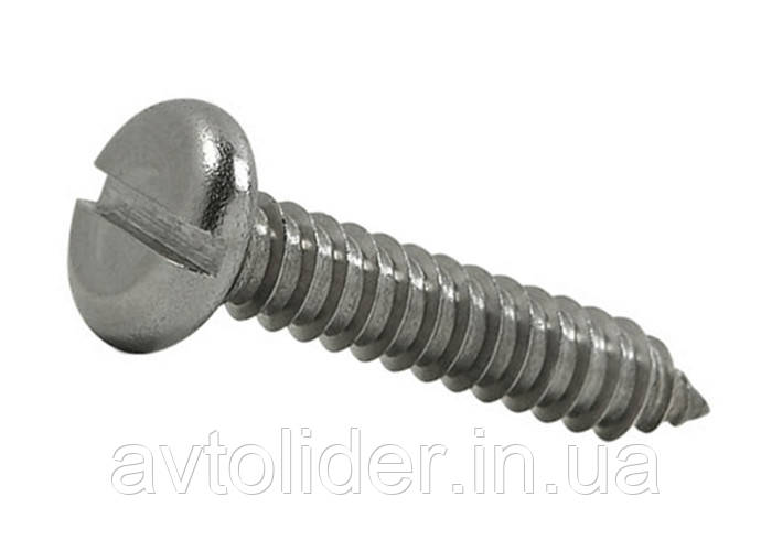 DIN 7971 (ISO 1481) : нержавеющий шуруп по металлу с цилиндрической головкой