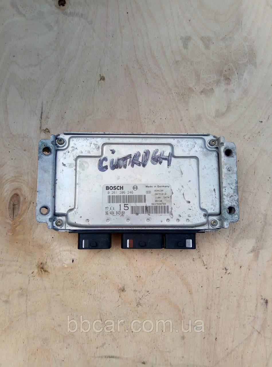 Блок управління двигуном  Citroen Saxo 1,1 Bosch 0 261 206 246 , 96 484 843 80