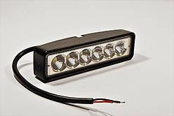 Светодиодная LED фара 30Вт  (светодиоды 5w x6шт) Белый свет новый образец