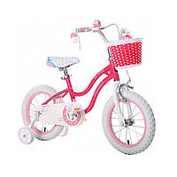 "Велосипед RoyalBaby STAR GIRL 12"", OFFICIAL UA, рожевий"