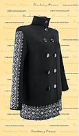 Пальто з вишивкою ПЛ 02